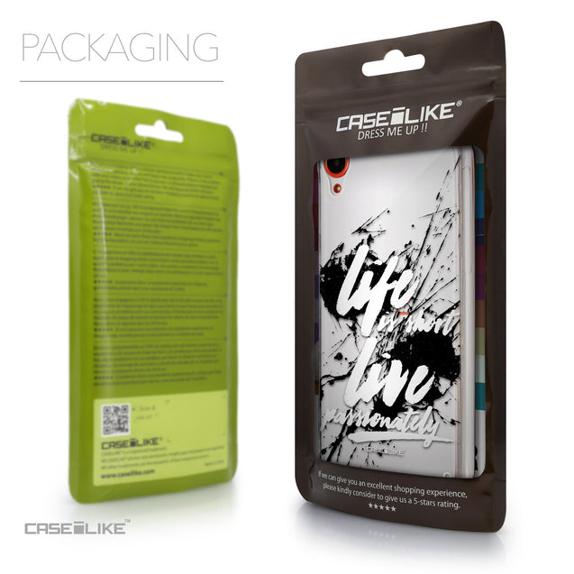Packaging - CASEiLIKE HTC Desire 820 back cover Quote 2416