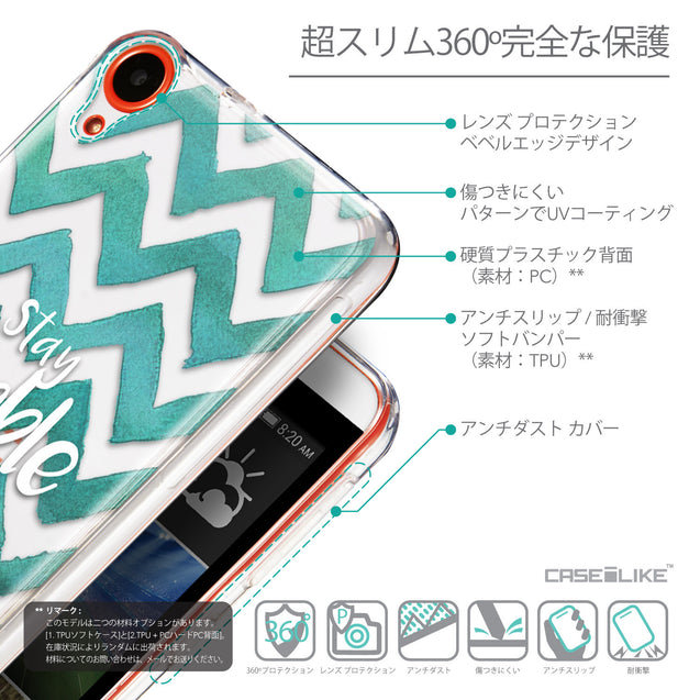 Details in Japanese - CASEiLIKE HTC Desire 820 back cover Quote 2418