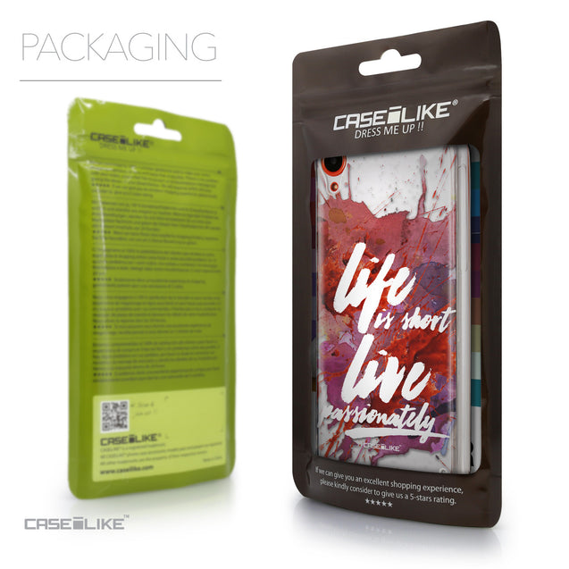 Packaging - CASEiLIKE HTC Desire 820 back cover Quote 2423