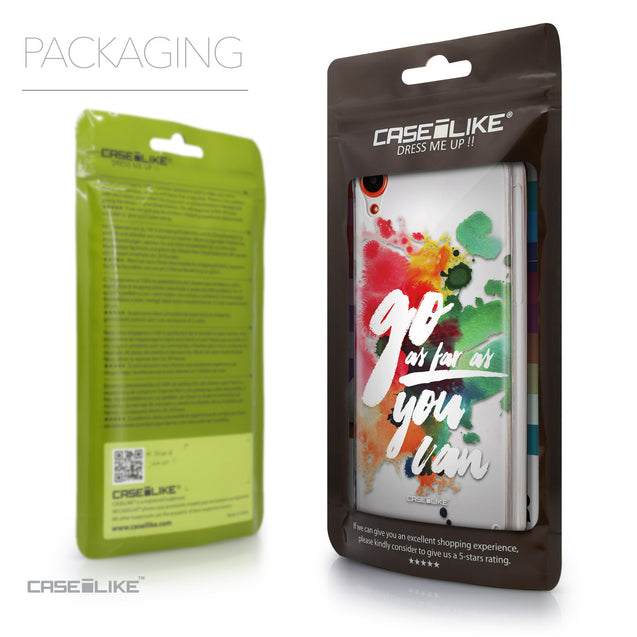 Packaging - CASEiLIKE HTC Desire 820 back cover Quote 2424
