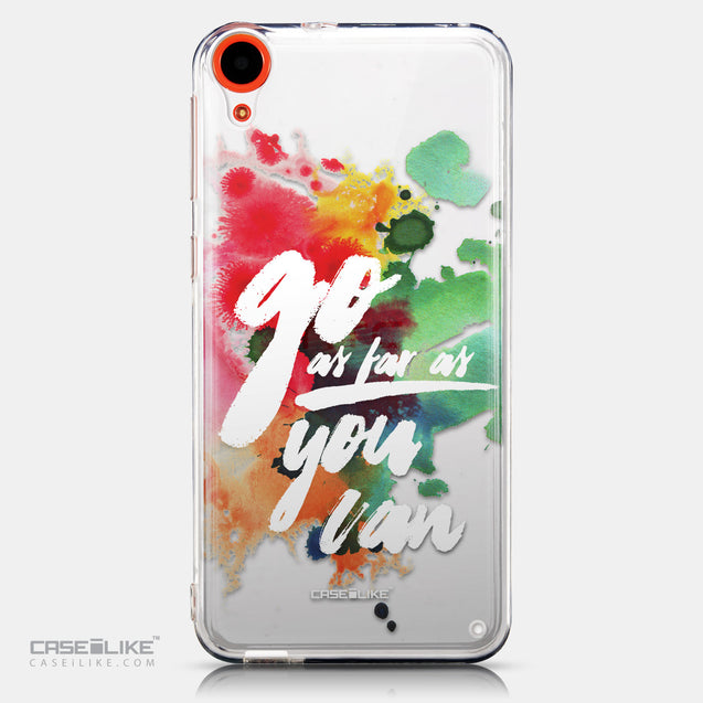 CASEiLIKE HTC Desire 820 back cover Quote 2424