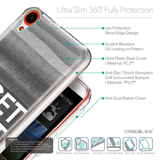 Details in English - CASEiLIKE HTC Desire 820 back cover Quote 2429