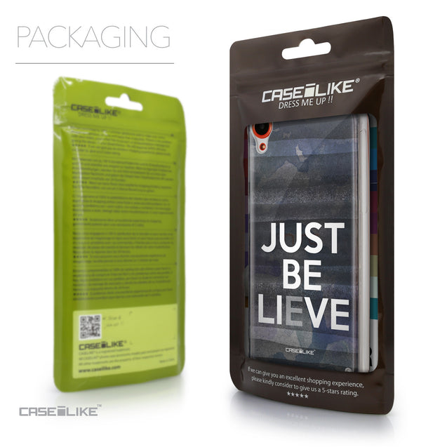 Packaging - CASEiLIKE HTC Desire 820 back cover Quote 2430