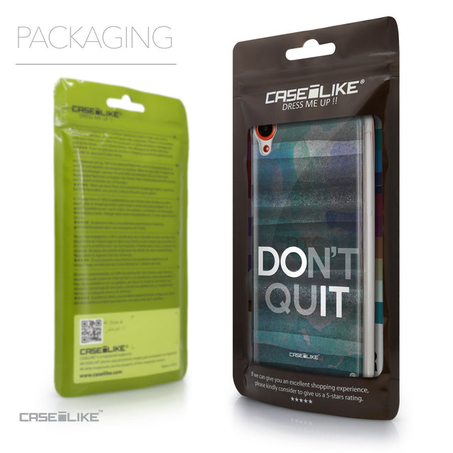 Packaging - CASEiLIKE HTC Desire 820 back cover Quote 2431
