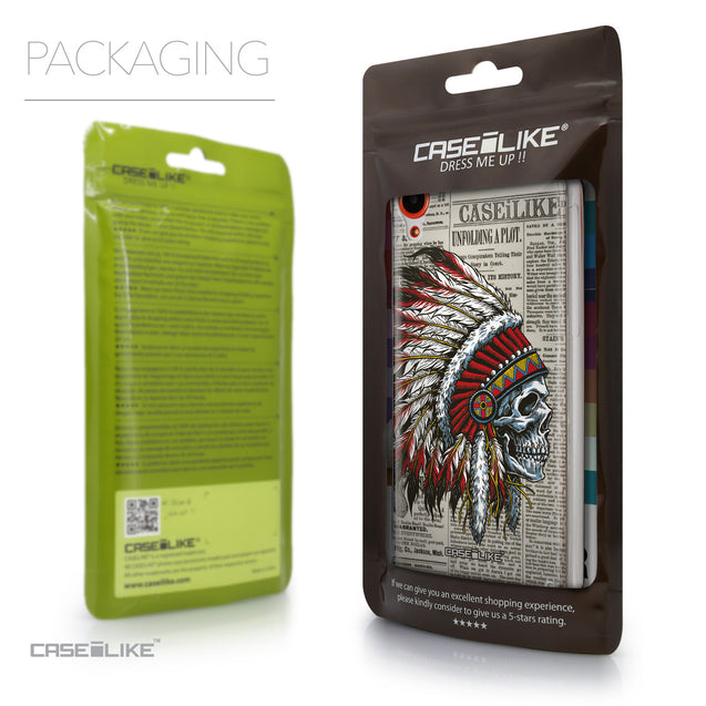Packaging - CASEiLIKE HTC Desire 820 back cover Art of Skull 2522