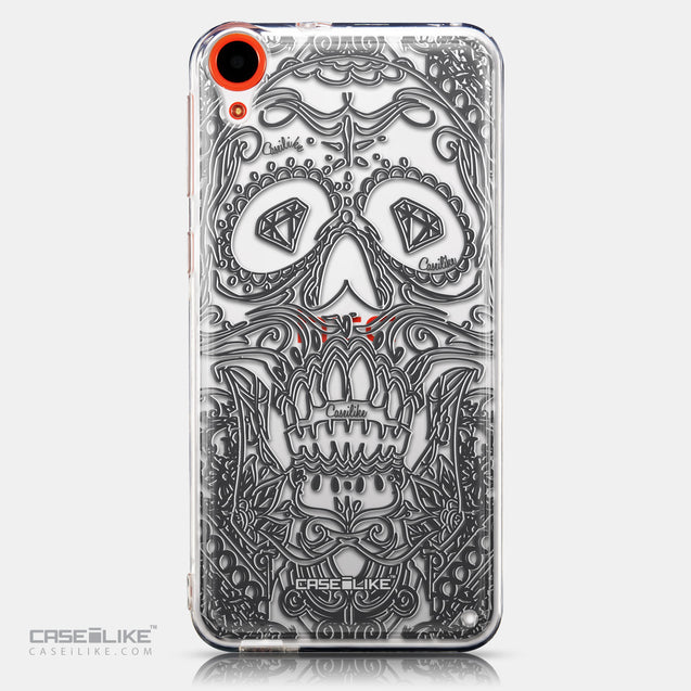 CASEiLIKE HTC Desire 820 back cover Art of Skull 2524