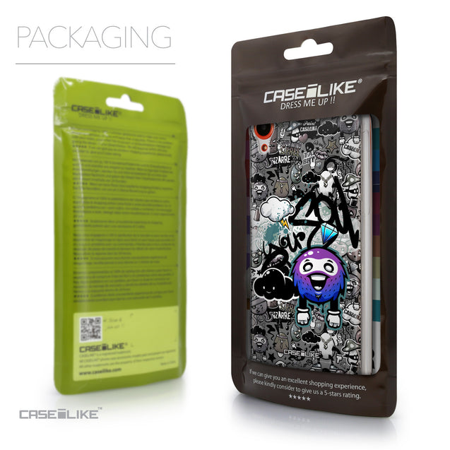 Packaging - CASEiLIKE HTC Desire 820 back cover Graffiti 2706