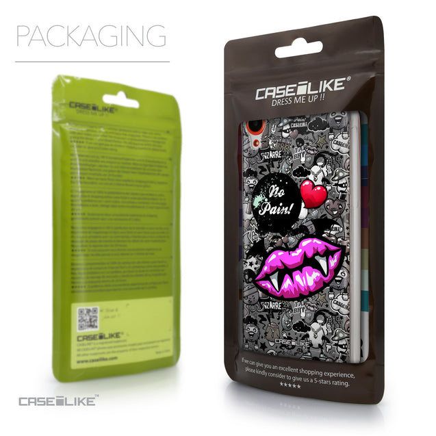 Packaging - CASEiLIKE HTC Desire 820 back cover Graffiti 2708
