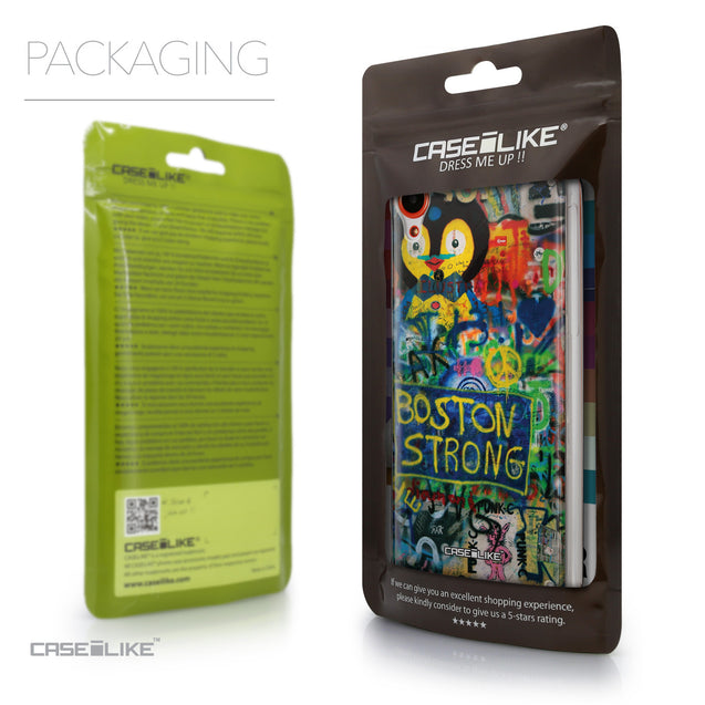 Packaging - CASEiLIKE HTC Desire 820 back cover Graffiti 2723