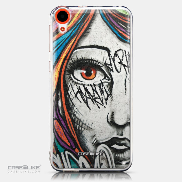 CASEiLIKE HTC Desire 820 back cover Graffiti Girl 2724