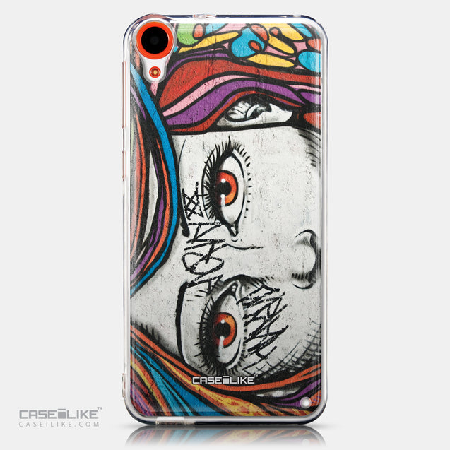 CASEiLIKE HTC Desire 820 back cover Graffiti Girl 2725