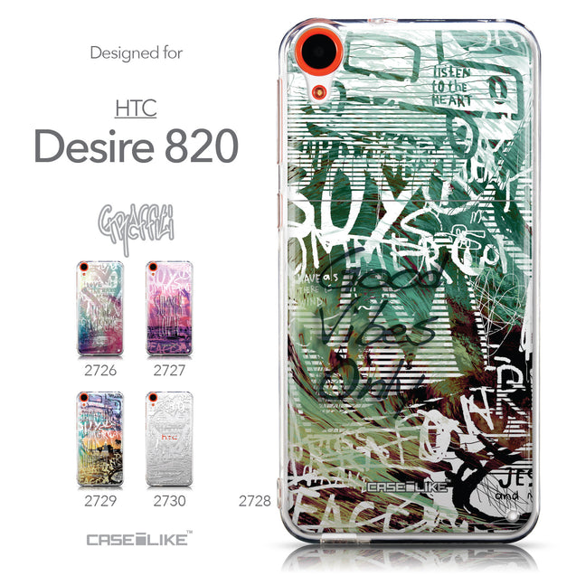 Collection - CASEiLIKE HTC Desire 820 back cover Graffiti 2728