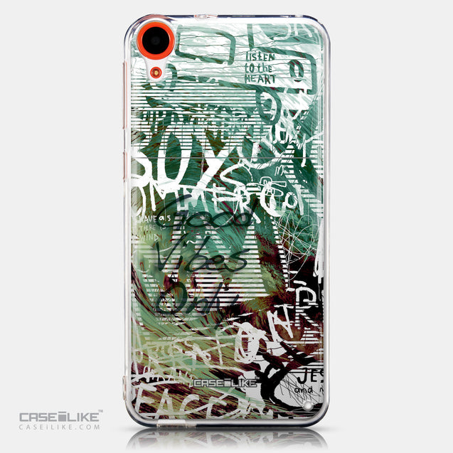 CASEiLIKE HTC Desire 820 back cover Graffiti 2728