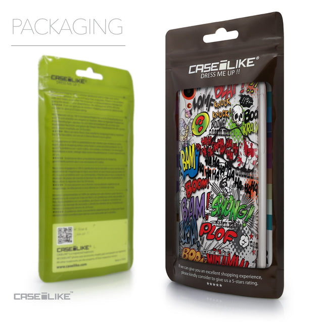 Packaging - CASEiLIKE HTC Desire 820 back cover Comic Captions 2914