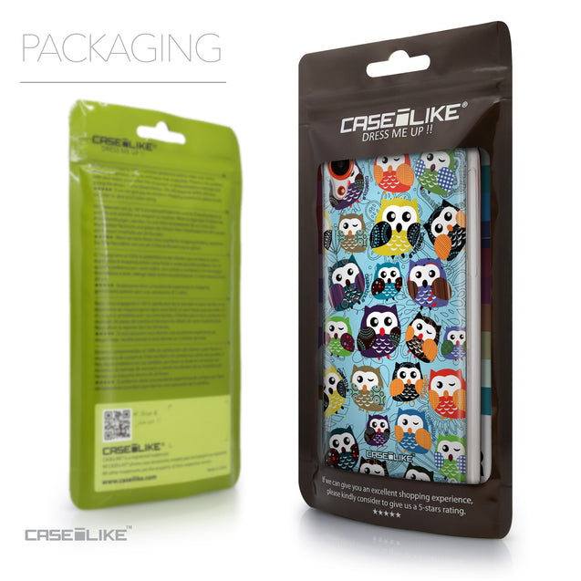Packaging - CASEiLIKE HTC Desire 820 back cover Owl Graphic Design 3312
