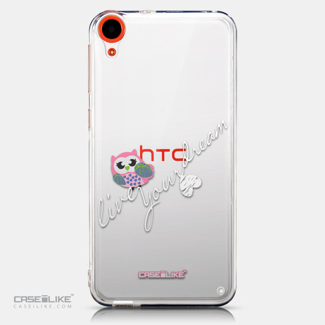 CASEiLIKE HTC Desire 820 back cover Owl Graphic Design 3314