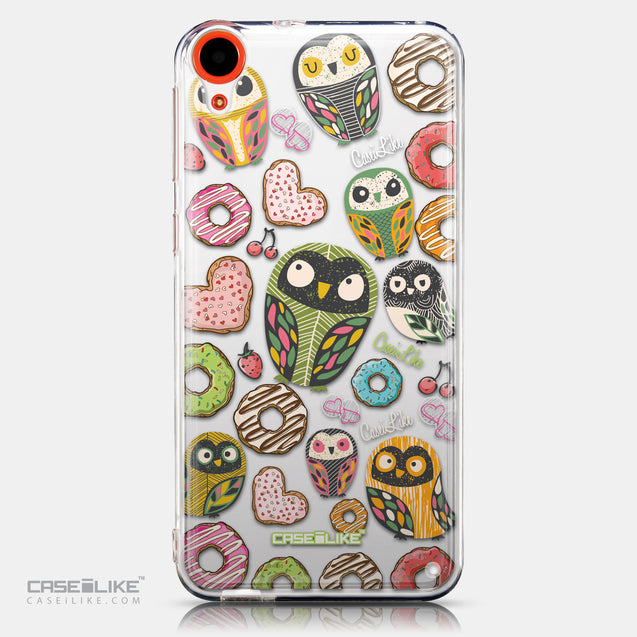CASEiLIKE HTC Desire 820 back cover Owl Graphic Design 3315