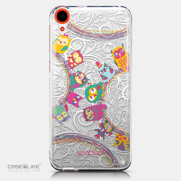 CASEiLIKE HTC Desire 820 back cover Owl Graphic Design 3316