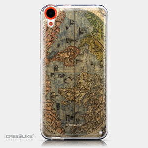 CASEiLIKE HTC Desire 820 back cover World Map Vintage 4608