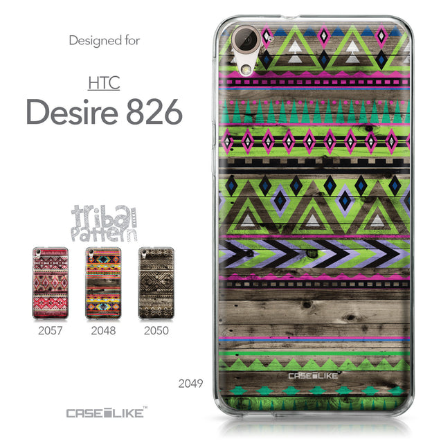 HTC Desire 826 case Indian Tribal Theme Pattern 2049 Collection | CASEiLIKE.com