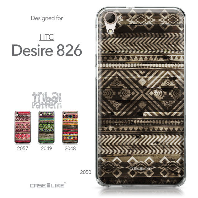 HTC Desire 826 case Indian Tribal Theme Pattern 2050 Collection | CASEiLIKE.com