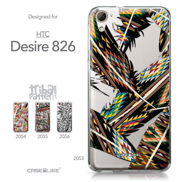 HTC Desire 826 case Indian Tribal Theme Pattern 2053 Collection | CASEiLIKE.com