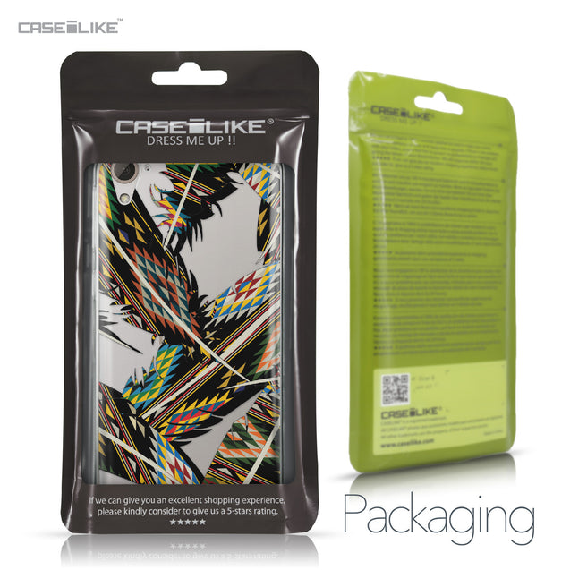 HTC Desire 826 case Indian Tribal Theme Pattern 2053 Retail Packaging | CASEiLIKE.com