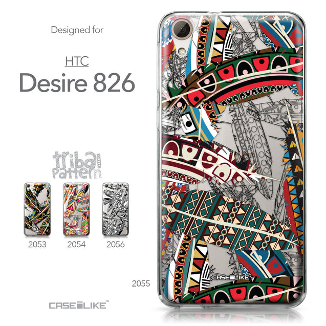 HTC Desire 826 case Indian Tribal Theme Pattern 2055 Collection | CASEiLIKE.com