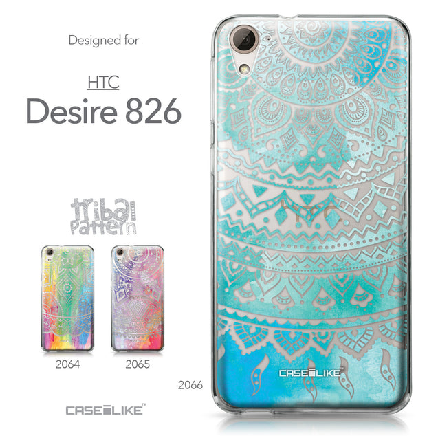 HTC Desire 826 case Indian Line Art 2066 Collection | CASEiLIKE.com