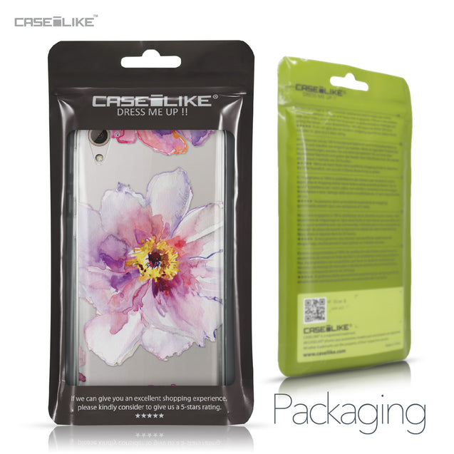 HTC Desire 826 case Watercolor Floral 2231 Retail Packaging | CASEiLIKE.com