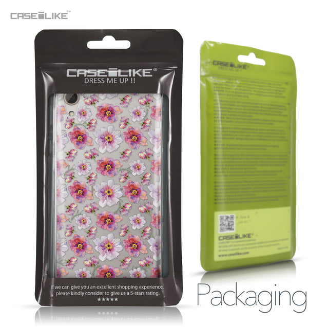 HTC Desire 826 case Watercolor Floral 2232 Retail Packaging | CASEiLIKE.com