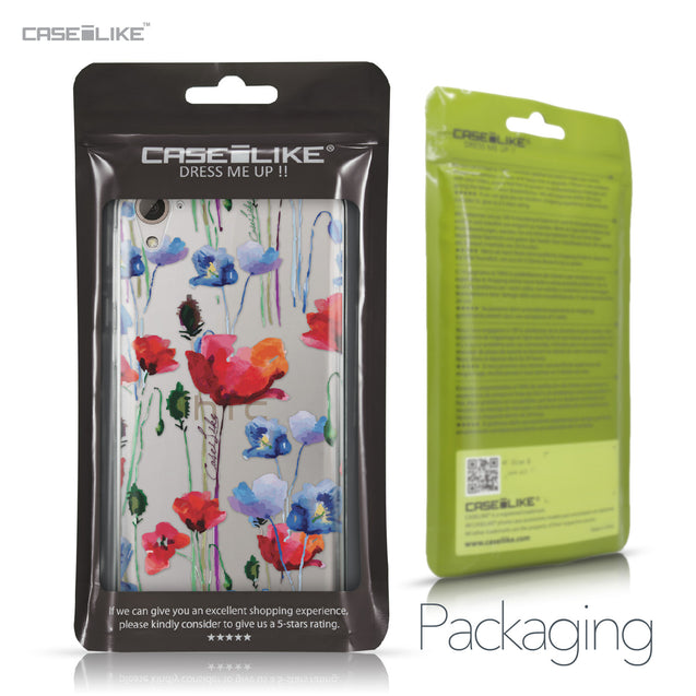 HTC Desire 826 case Watercolor Floral 2234 Retail Packaging | CASEiLIKE.com