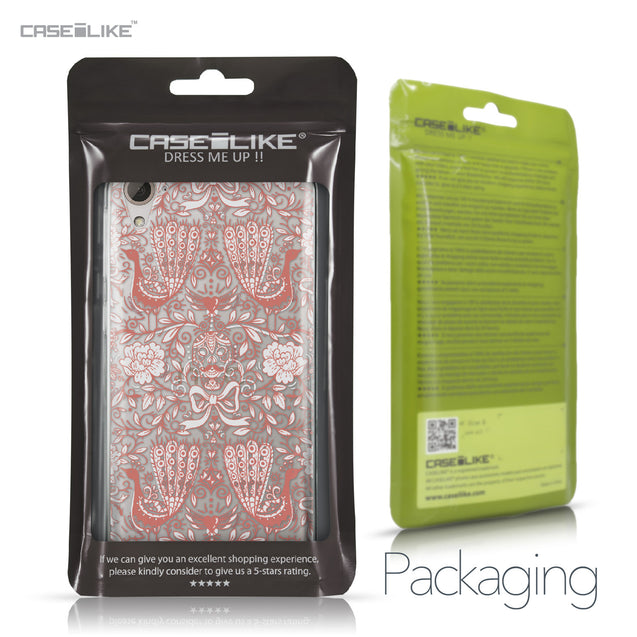 HTC Desire 826 case Roses Ornamental Skulls Peacocks 2237 Retail Packaging | CASEiLIKE.com