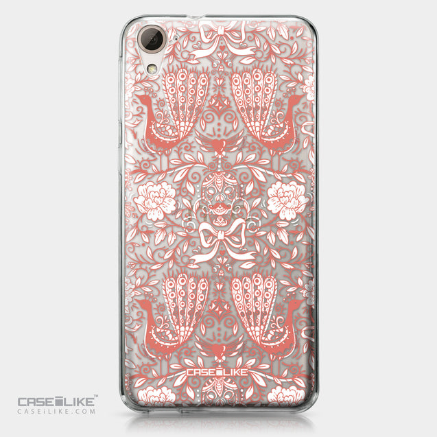 HTC Desire 826 case Roses Ornamental Skulls Peacocks 2237 | CASEiLIKE.com
