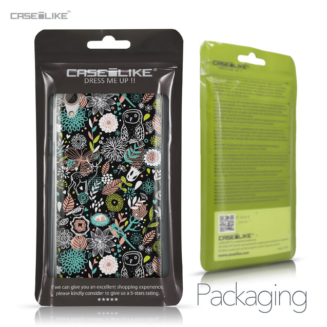 HTC Desire 826 case Spring Forest Black 2244 Retail Packaging | CASEiLIKE.com