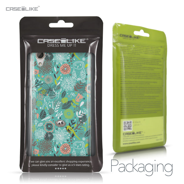 HTC Desire 826 case Spring Forest Turquoise 2245 Retail Packaging | CASEiLIKE.com