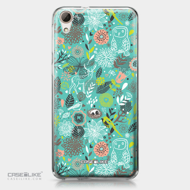 HTC Desire 826 case Spring Forest Turquoise 2245 | CASEiLIKE.com