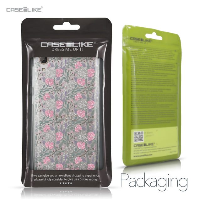 HTC Desire 826 case Flowers Herbs 2246 Retail Packaging | CASEiLIKE.com