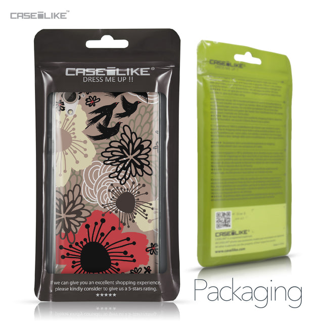 HTC Desire 826 case Japanese Floral 2254 Retail Packaging | CASEiLIKE.com