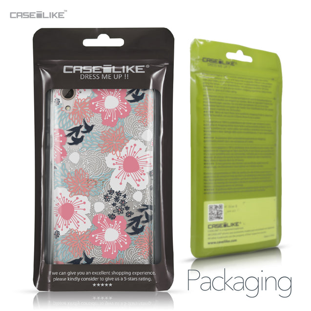 HTC Desire 826 case Japanese Floral 2255 Retail Packaging | CASEiLIKE.com