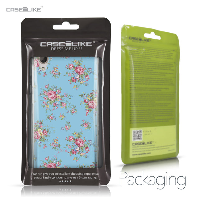 HTC Desire 826 case Floral Rose Classic 2263 Retail Packaging | CASEiLIKE.com