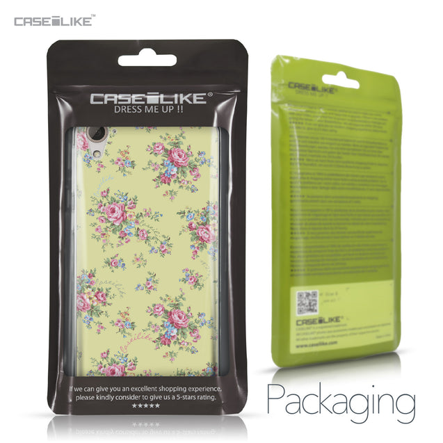 HTC Desire 826 case Floral Rose Classic 2264 Retail Packaging | CASEiLIKE.com