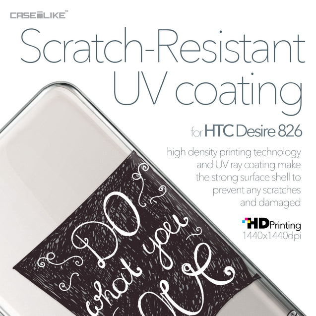 HTC Desire 826 case Quote 2400 with UV-Coating Scratch-Resistant Case | CASEiLIKE.com