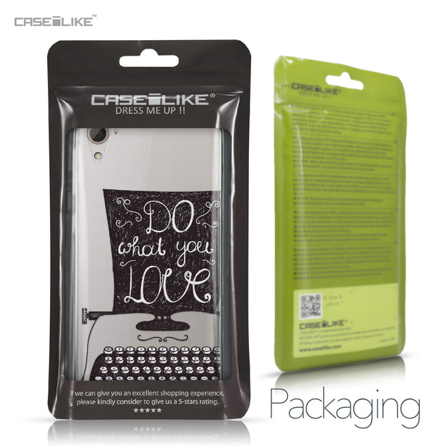 HTC Desire 826 case Quote 2400 Retail Packaging | CASEiLIKE.com