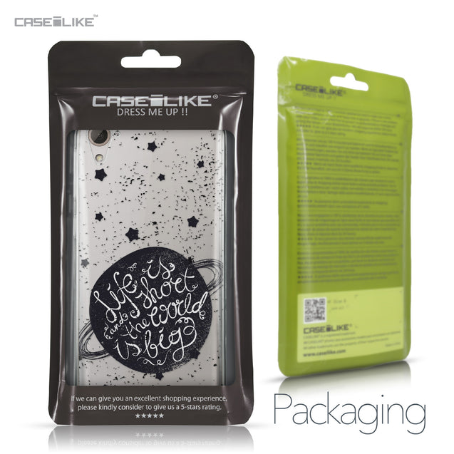HTC Desire 826 case Quote 2401 Retail Packaging | CASEiLIKE.com