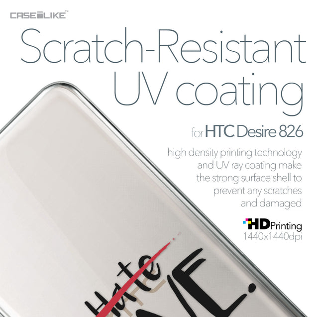HTC Desire 826 case Quote 2406 with UV-Coating Scratch-Resistant Case | CASEiLIKE.com