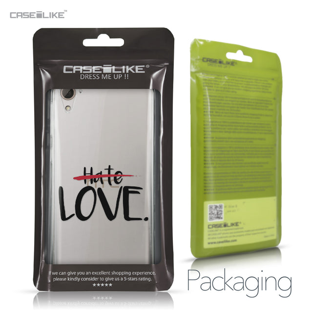 HTC Desire 826 case Quote 2406 Retail Packaging | CASEiLIKE.com