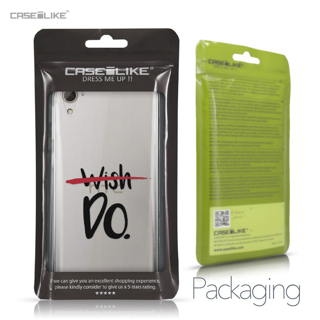 HTC Desire 826 case Quote 2407 Retail Packaging | CASEiLIKE.com