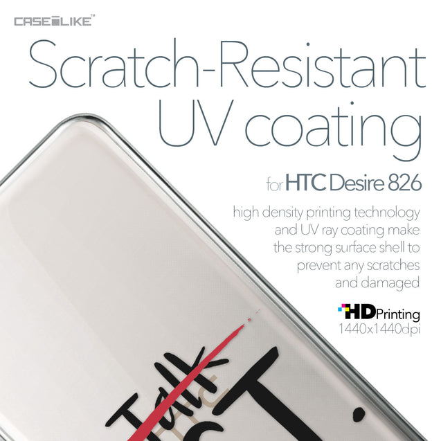 HTC Desire 826 case Quote 2408 with UV-Coating Scratch-Resistant Case | CASEiLIKE.com