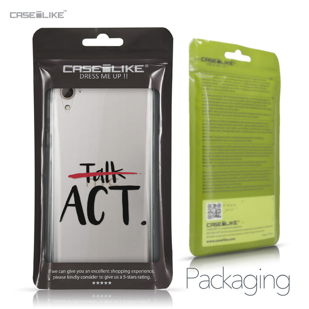HTC Desire 826 case Quote 2408 Retail Packaging | CASEiLIKE.com